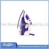 Hierro eléctrico eléctrico Sf-9004 del hierro de vapor con el Soleplate de cerámica (púrpura)