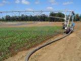 Système d'irrigation transversal de mouvement de deux roues