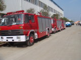 Dongfeng 7000literの消火活動のトラック
