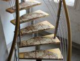 Europäische Art-rustikaler Treppe-Teppich