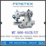 Máquina de coser de Cylider del dispositivo de seguridad de alta velocidad de la cama (600-01CB/UT)