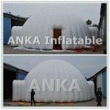 Раздувной шатер купола с прозрачной крышей окна