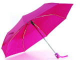 Parapluies compacts d'Open&Close de perle (YS-3FD22083508R)
