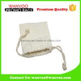 カラー綿の米のドローストリング袋の中国の実用的で自然な製造者