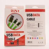 1m TPE-galvanisieren Multifunktionstelefon-Zubehör USB Daten-Kabel für iPhone Samsung