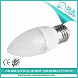 220V 줄무늬 E27 5W LED 초 빛