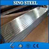 Chapas de aço onduladas galvanizadas SGCC para a telhadura do metal