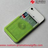 付着力のステッカーIDのクレジットカードの小型の電話ホールダー