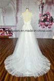 Full-Length A-Line vestido de noiva de renda