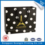 Luxury Paper Bag Panier avec Golden Logo
