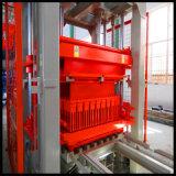 Línea de la máquina del ladrillo de la construcción Qt10-15/cadena de producción completamente automática