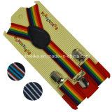Großhandelsform Stripes Kind-elastische Klammer-Aufhängevorrichtung