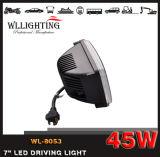 オフロード4X4クリー族働くライト45W LEDドライビング・ライトのヘッドライト