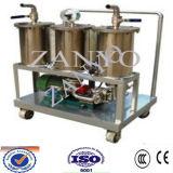 Sistema portable fino de la filtración del petróleo