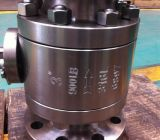 Hochdruck3-pcs Forged Steel Flange Type Ball Valve