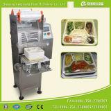 Fs-600 Máquina de sellado de caja de comida rápida, Máquina de sellado de bandeja de arroz, Máquina de sellado de película de bandeja de ensalada