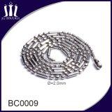 Collar de largo rebordeado y de cadena de la alta calidad