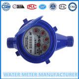 Medición de Higt y bajo precio plástico mojado Dail del contador del agua fría