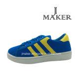 Chaussures de toile occasionnelles de fabrication pour les enfants (JM2077-B)