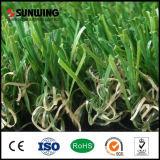 Fabricantes de China de alfombra sintetizada de la hierba para el lugar del ocio