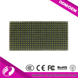 Panel de video LED de color amarillo de 10 mm con control de disco U