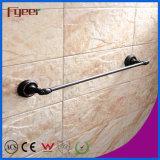 Barres d'encavateur antidérapage en laiton annexes de sécurité de salle de bains noire de série de Fyeer