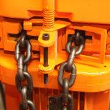 Certificación del Ce alzamiento de cadena eléctrico de 0.5 toneladas con el gancho de leva