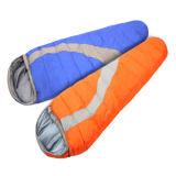 ミイラ様式の夏の空の綿の寝袋