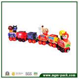 Tren de madera magnético encantador colorido de la alta calidad pequeño
