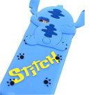 かわいい動物の青いステッチの緑のPopeyesの背部シリコーンの携帯電話の箱(XSD-062)