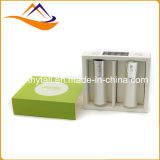 Rectángulo de papel de lujo, rectángulo de regalo, rectángulo de papel que empaqueta para el cosmético