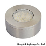 Round Surface Mounted on Cabinet 12V 1.5W Cabinet Leg Light