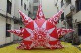 Forme gonflable personnalisée de Sun de décoration pour la promotion
