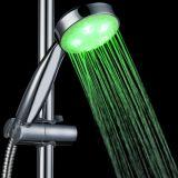 Handdusche-Licht des drei Farben-Änderungs-Temperaturregler-LED