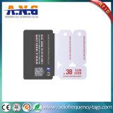 Cartes de code barres de PVC estampées par coutume combinée pour le management d'adhésion