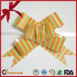 Proue rayée faite sur commande de traction de guindineau de cadeau de pp
