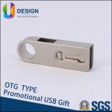 Zet Uw Eigen Embleem op Uw PromotieAandrijving van de Flits van de Schijf USB USB van Hotest OTG van de Gift (ul-OTG001)
