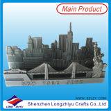 Singapur-MassenVisitenkarte-Halter-Metallnamenskartenhalter