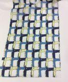 Polyester-neuer Check-Entwurf gedrucktes Kleid-Gewebe