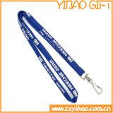 Lanière faite sur commande de polyester de collet avec le cordon mobile (YB-LY-12)