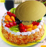 케이크 기초, 물결 모양 케이크 널, 소형 케이크 널, SGS (B&C-K081)를 가진 케이크 쟁반