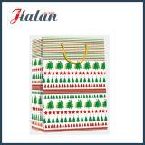 Lamellierten Ivory Papier-Weihnachtsträger-Geschenk-Papiermattbeutel anpassen