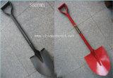 Садовничая инструменты сварили стальную лопату S503my лопаткоулавливателя ручки