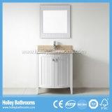 Amerikanische Art-Vertrags-festes Holz-Badezimmer-Eitelkeit mit Spiegel-Schrank (BV204W)