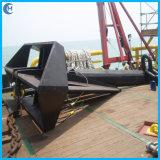 Tipo ancla marina de Hhp del acero de molde de la aleta del delta de la nave