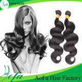 Cheveu brésilien neuf de Vierge de cheveux humains de Remy de mode