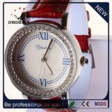 Relógio da liga do relógio de quartzo do relógio das mulheres do relógio de forma (DC-1098)