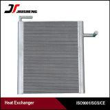 Échangeur de chaleur en aluminium brasé d'excavatrice d'ailette de plaque