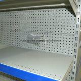 Американская полка индикации супермаркета пробитых отверстий типа для сбывания
