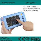 Monitor paciente ECG, NIBP, SpO2, función de Bluetooth del pulso - Maggie de la pantalla táctil de 5 pulgadas